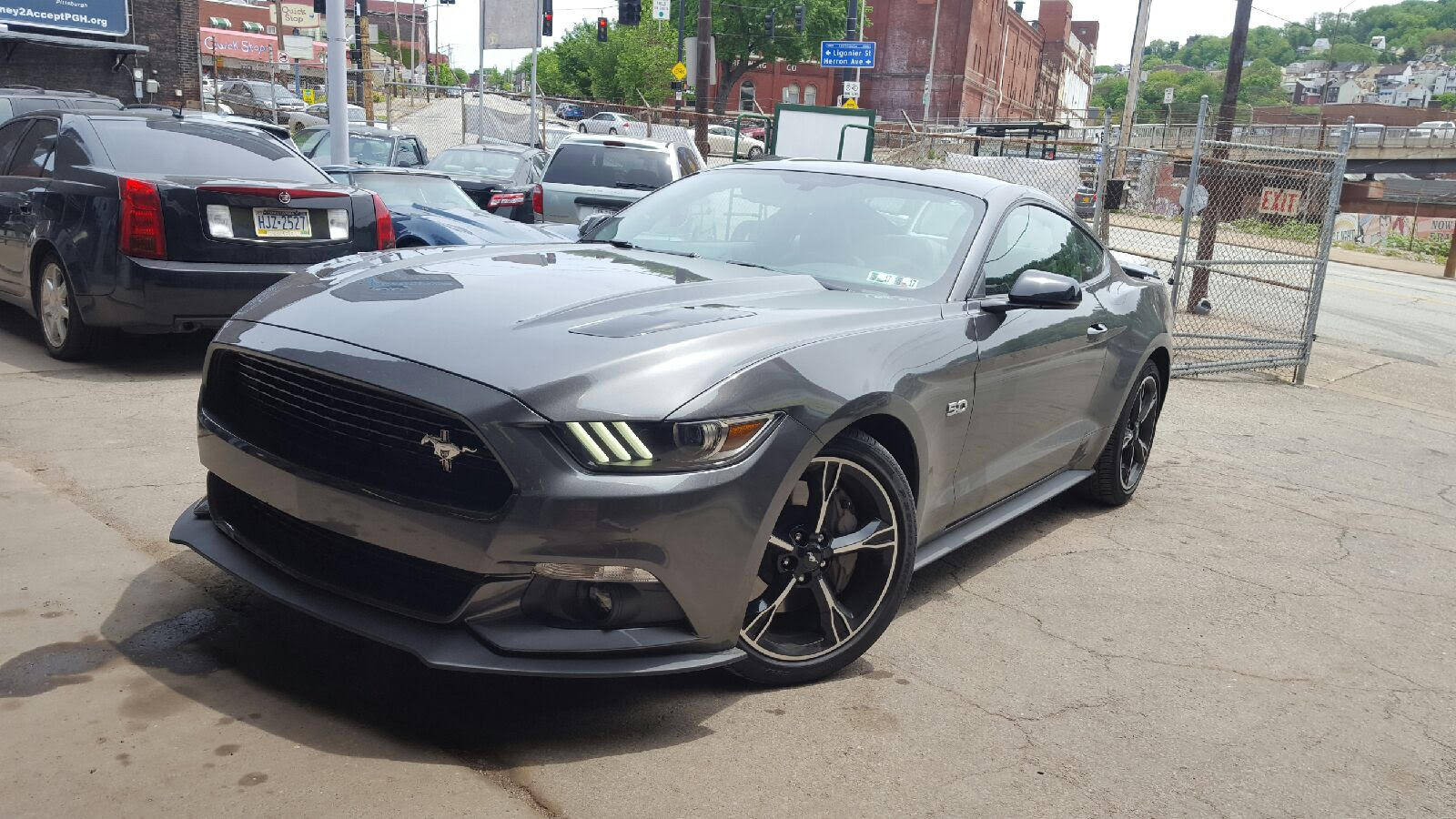 2016 ford mustang GT california special cali vinces performance five oh custom exhaust